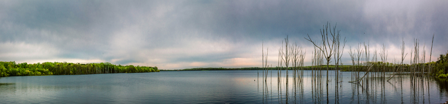 Panorama of the manasquan reservoir taken by julianne and steven of markow photography