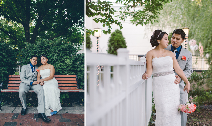 Wedding photography in Freehold NJ by The Markows Julianne and Steven
