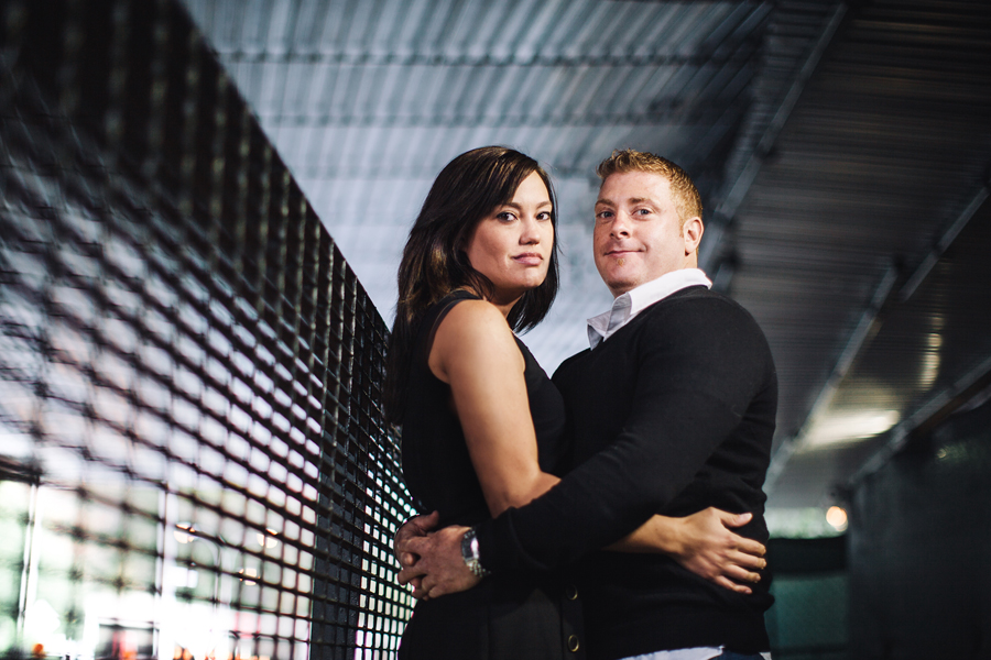 nyc engagement photo session with wedding photographers the markows