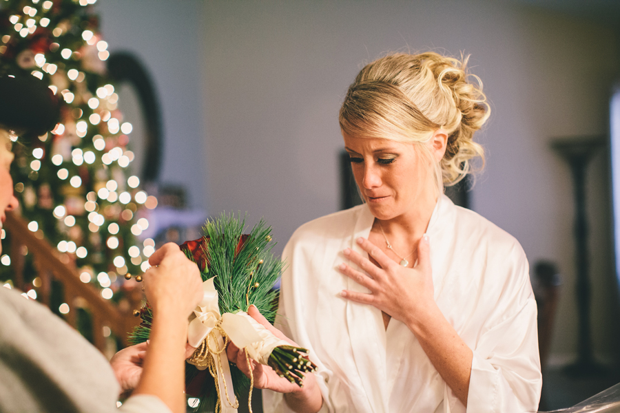 New Jersey Christmas Wedding