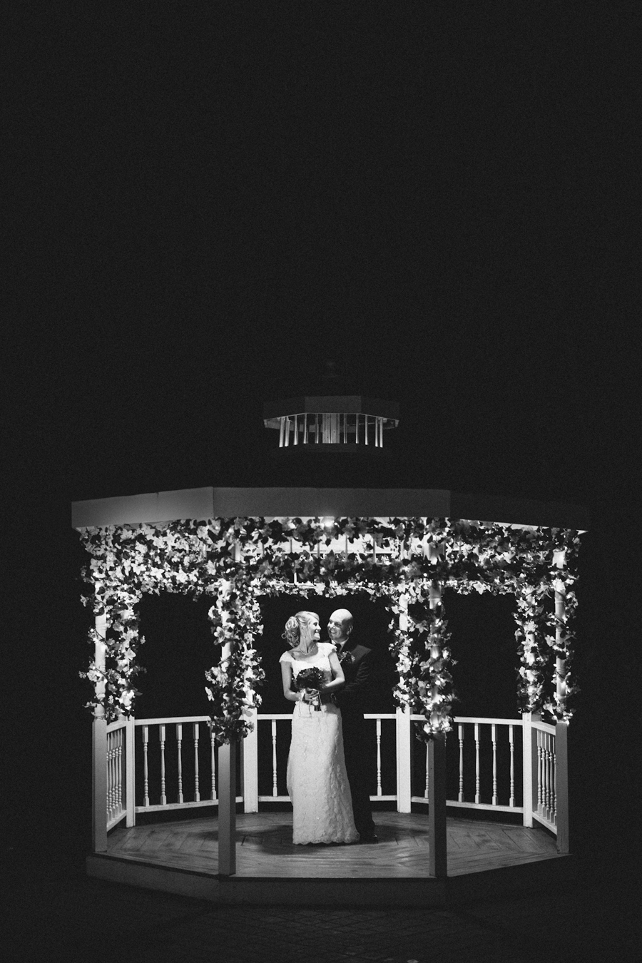 nj night time wedding photography