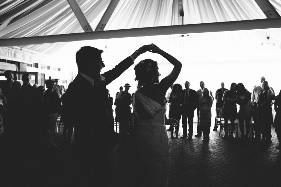 wedding first dance at the liberty house