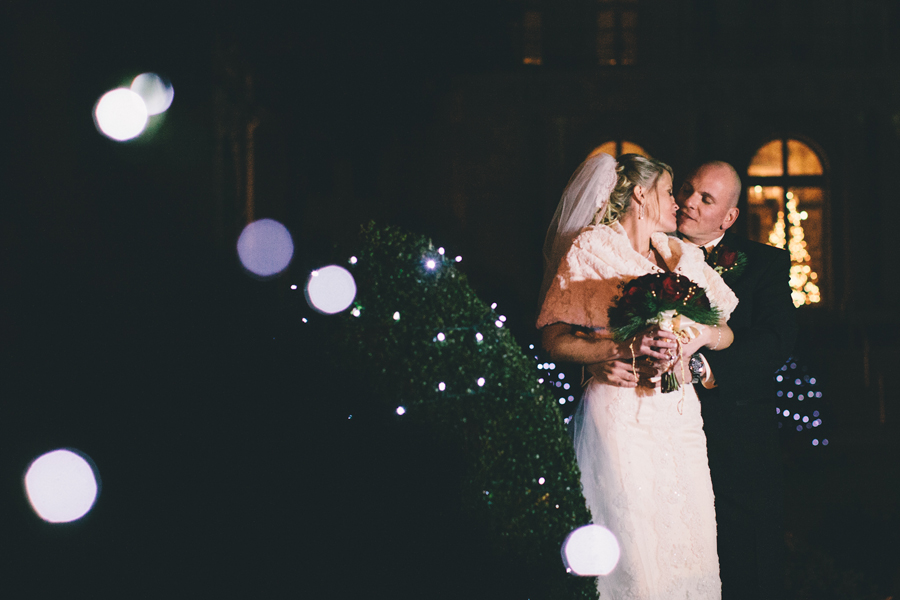 Monmouth University Wedding Photos Christmas