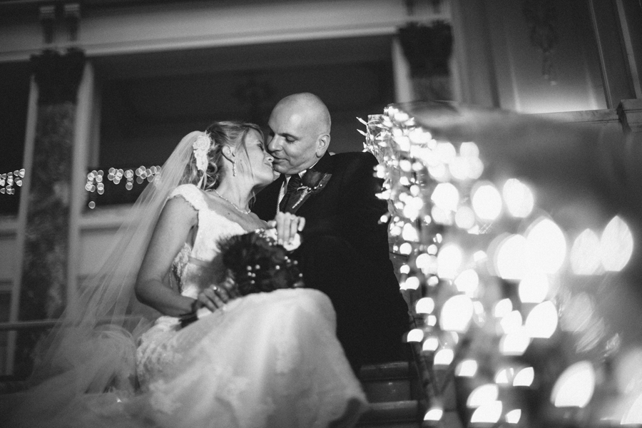 Monmouth University Wedding Photos Christmas time