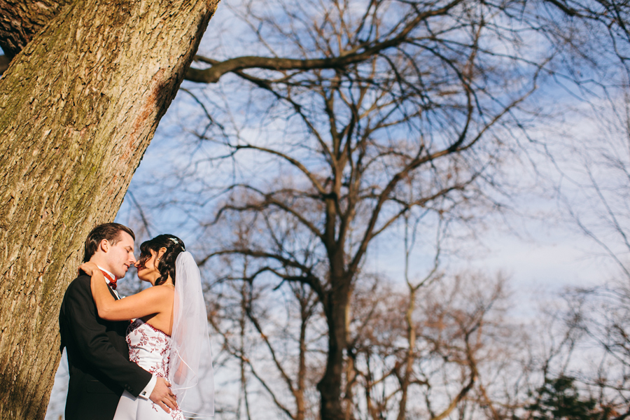Creative Central Park Wedding Photos