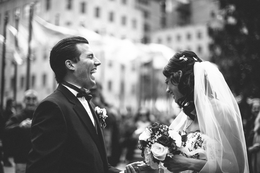 Awesome New York City Wedding Photo