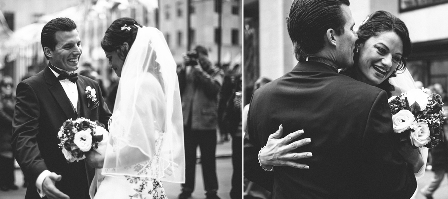 Wedding Ceremony in New York City Photos