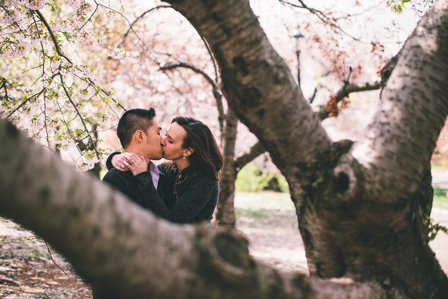 Engagement Pictures at branch brook park