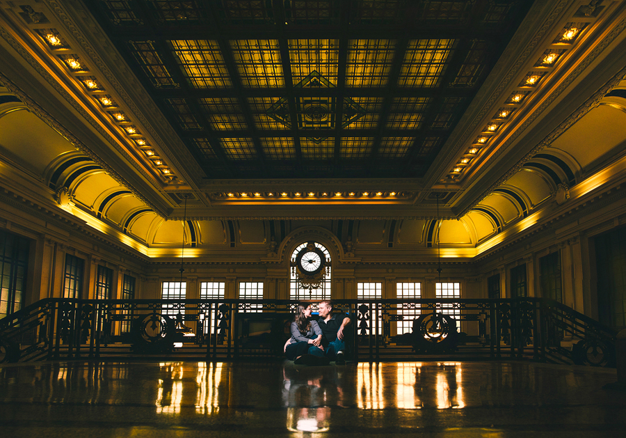 Hoboken Train Terminal Engagement