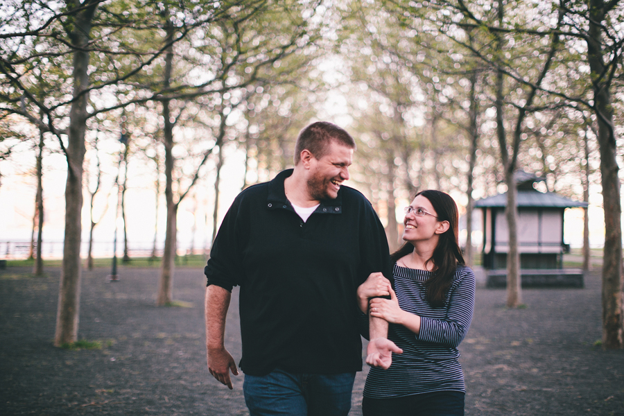 Hoboken, NJ Engagement
