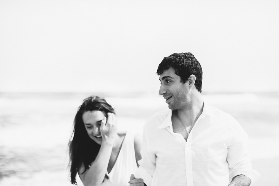 NJ Beach Engagement Photos