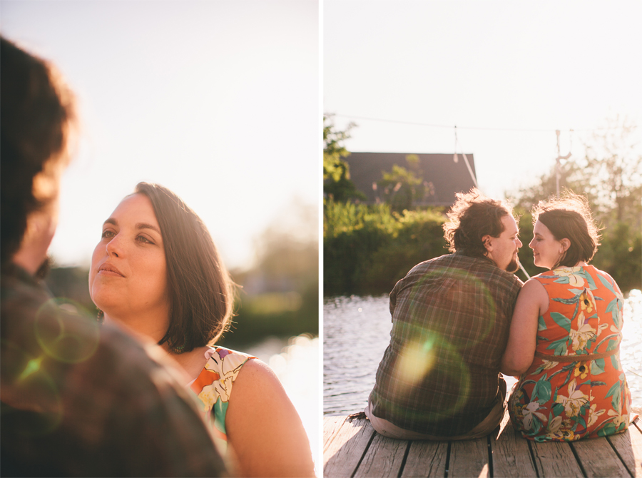 NJ Sunset Engagement Photos