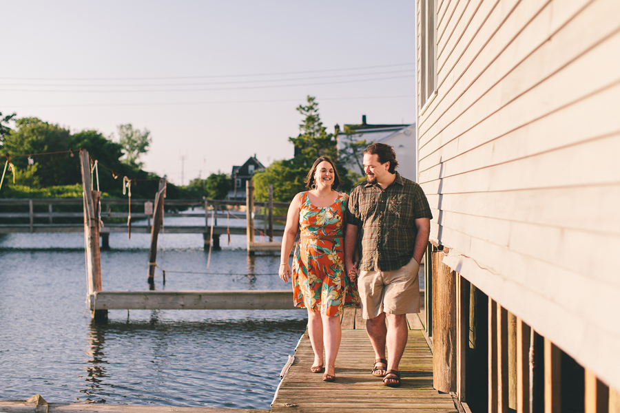 Engagement Session in a marina