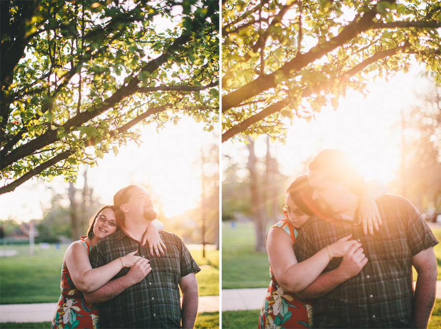 Sunset Engagement Photos in New Jersey