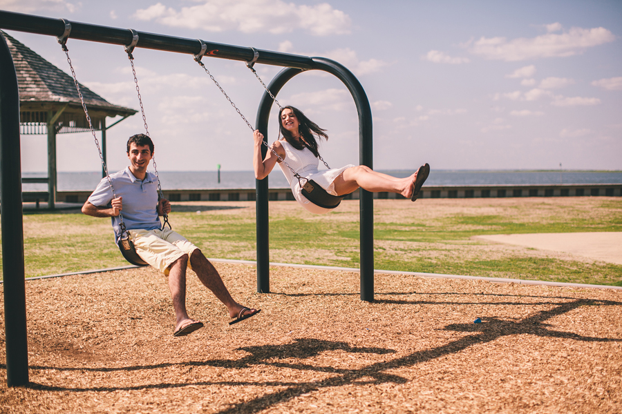 Fun LBI Engagement Photos