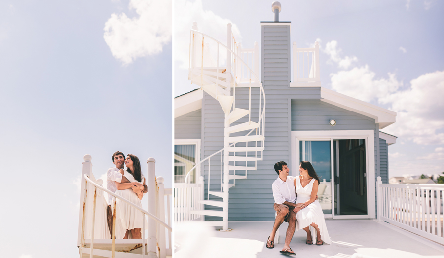 Jersey Shore Engagement Photos