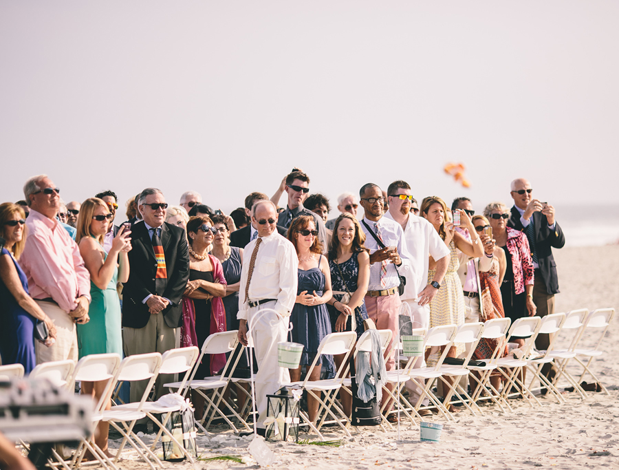 Flanders Hotel Beach Wedding Ceremony