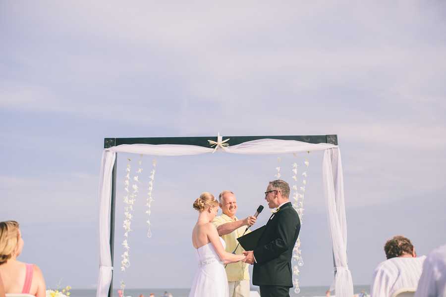 Ocean City, NJ Beach Wedding Photos