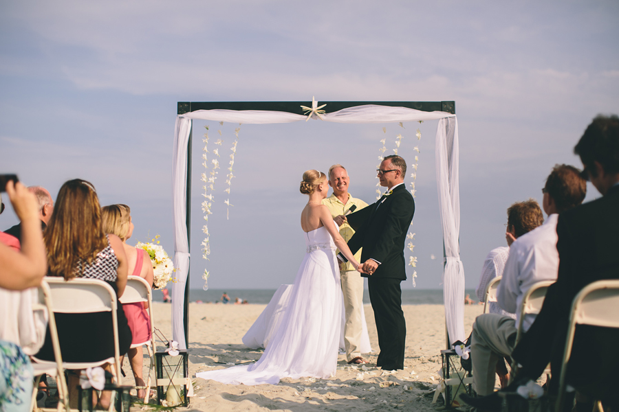 NJ Beach Wedding Photos