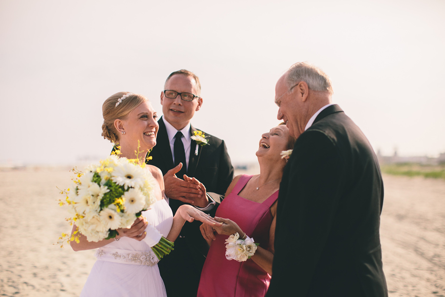 New Jersey Beach Wedding Photographers