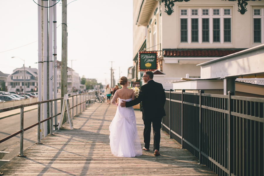 Ocean City, NJ Boardwalk Wedding Photos