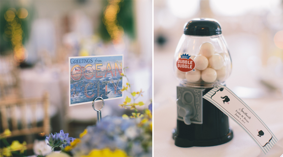 Photos of Wedding Favors in Ocean City, NJ