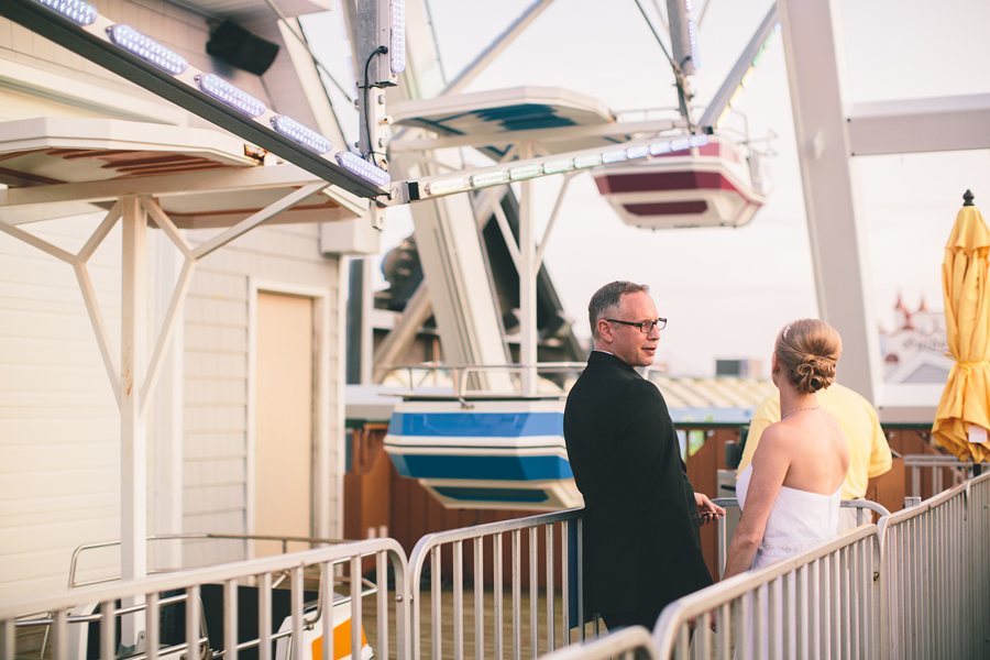 Theme Park Wedding Photos