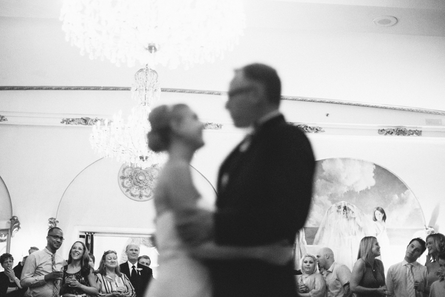 Creative First Dance Photo