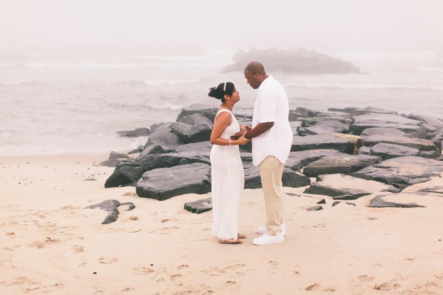 Beach Elopement Photos in New Jersey