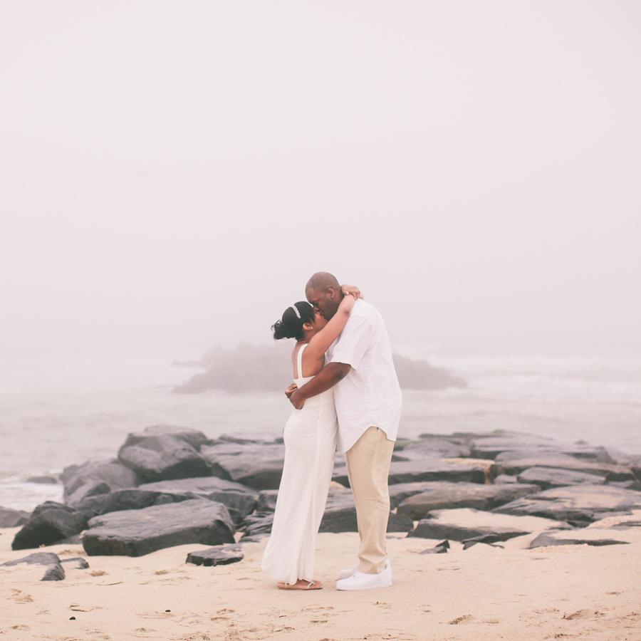 NJ Beach Elopement Photographers