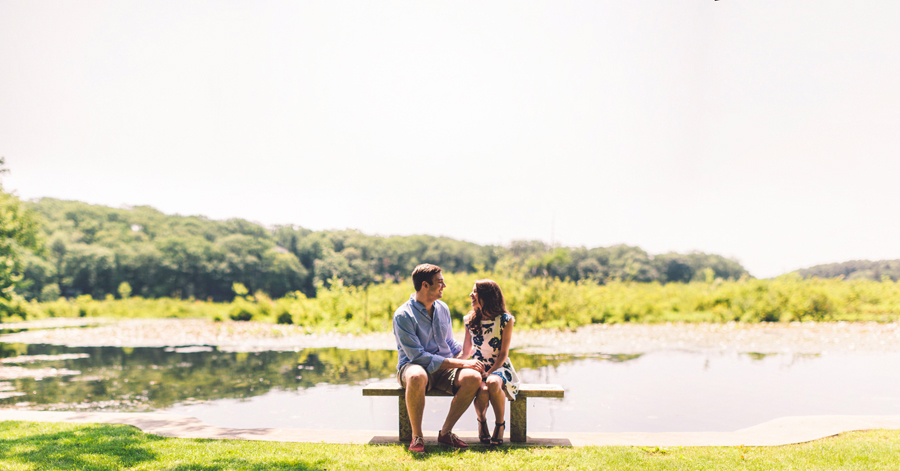 Cedar Lake, NJ Engagement Photos