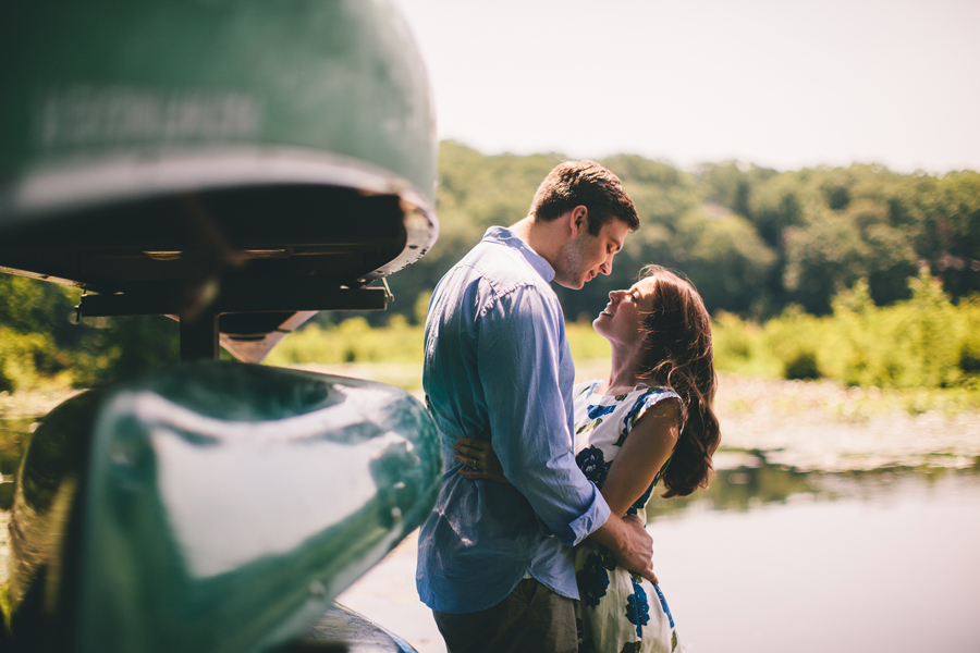 Denville, NJ Engagment Photos: Cedar Lake