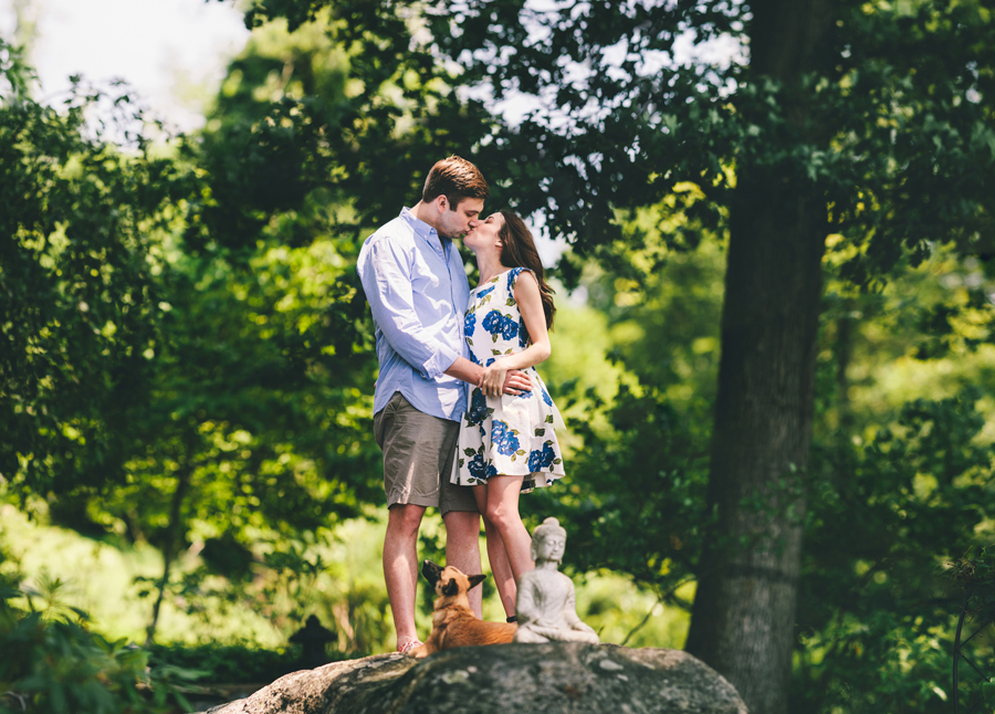 Engagement Photos at Cedar Lake in Denville, NJ