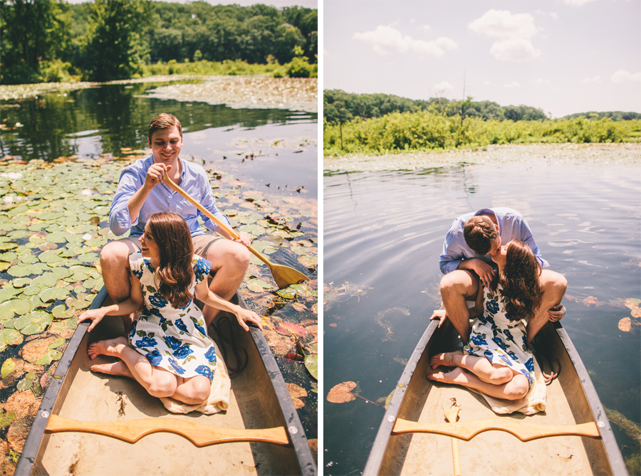 Cedar Lake Engagement Session