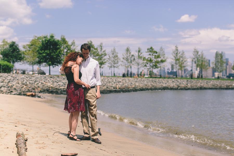 Engagement Photos in Hoboken, NJ