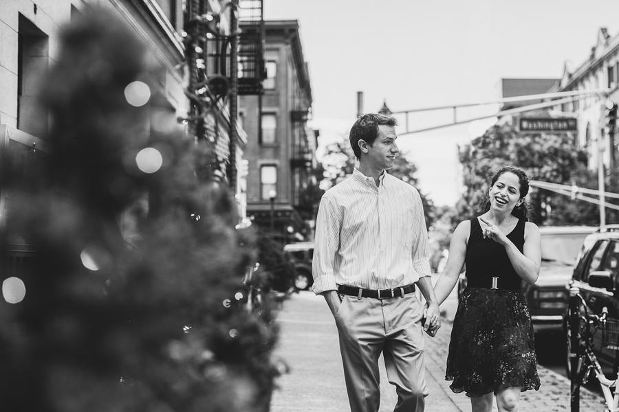 Fun Engagement Photos in Hoboken, NJ