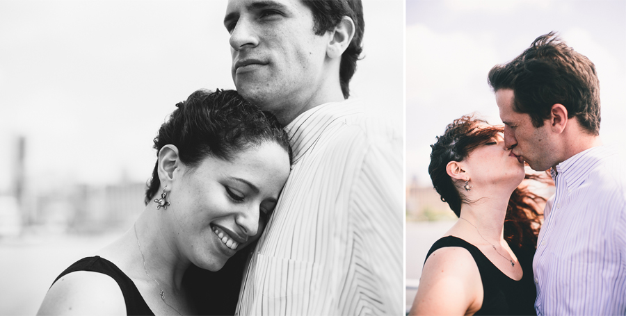Engagement Photos on ferry NJ NY