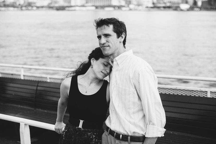 NJ Ferry Engagement Photos