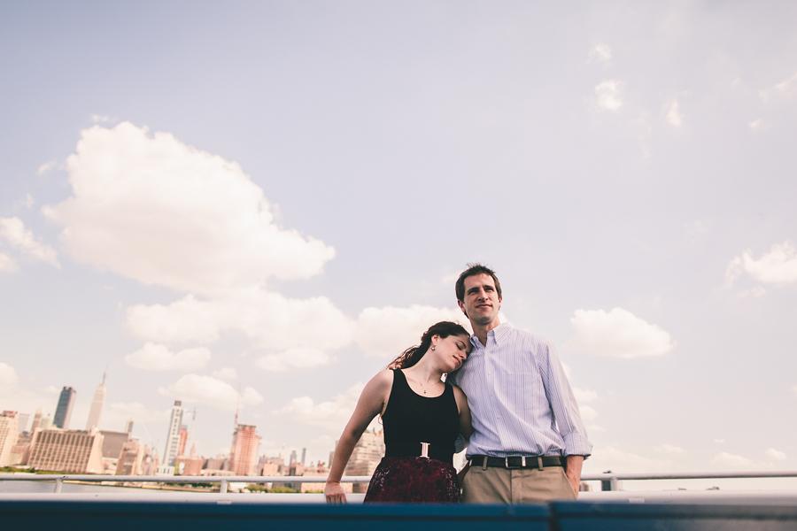 NY Ferry Engagement