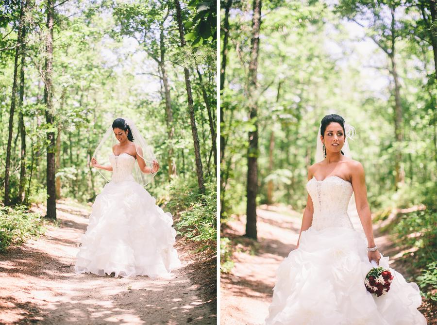 beautiful bridal portraits nj