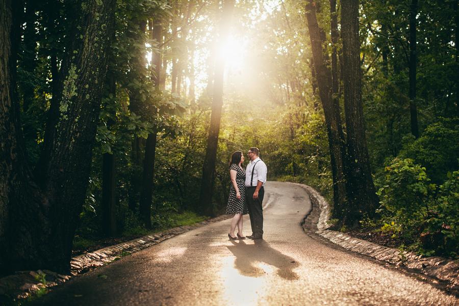 Engagement photos at Clove Lakes Park Staten Island