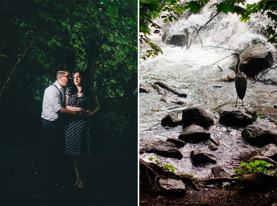 Clove Lakes Park Engagement Photos