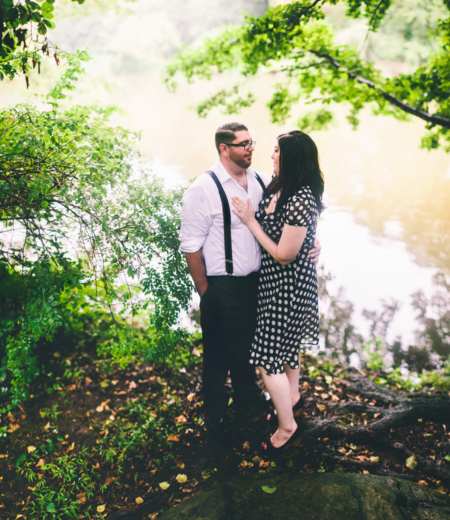 Engagement and Wedding Photos at Clove Lakes Park