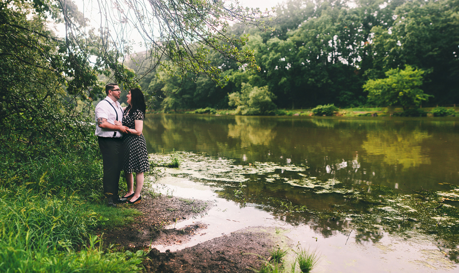 Clove Lakes Park Wedding and Engagement Photos