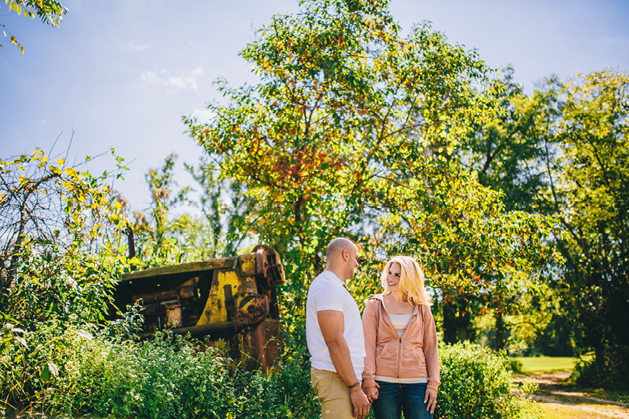 NJ Rustic Engagement