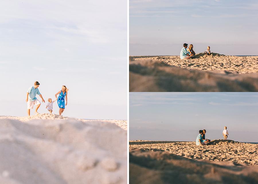 Family Photos at beach NJ