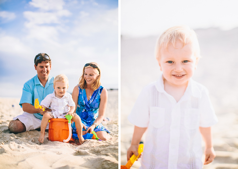 NJ Beach Family Session