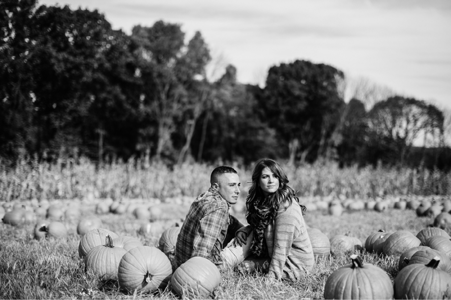 NJ Fall Engagement Photos
