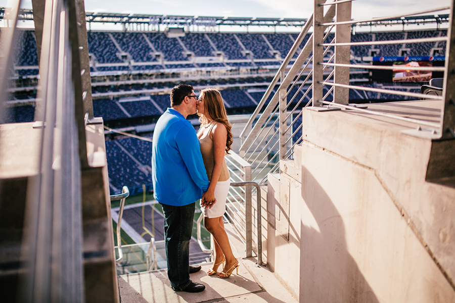 Giants Stadium Engagement Photos