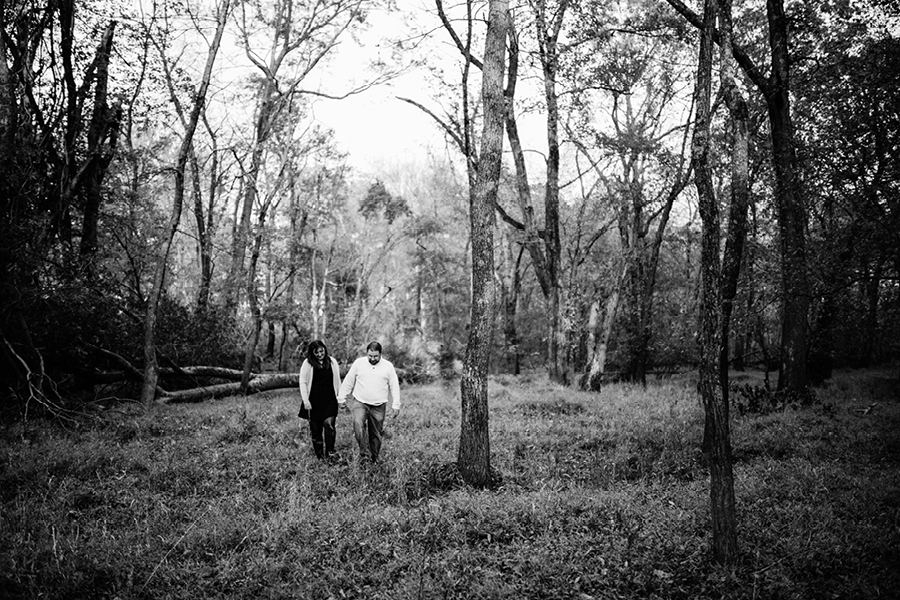 Fall at Allaire State Park NJ Engagement